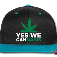 Yes We Cannabis Snapback