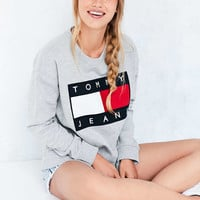 Tommy Jeans For UO 90s Pullover Sweatshirt - Urban Outfitters