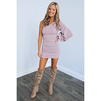 True To You Dress: Lilac