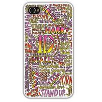 One Direction Collage Art iPhone Case by samonstage on Etsy