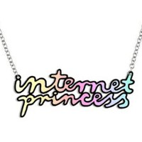 yippywhippy — PRE-ORDER internet princess necklace