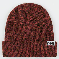 Neff Fold Beanie Red Combo One Size For Men 26687534901