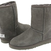 Ugg Classic Short Women's Boots 5825 Grey Ugg Women Boots - UGG Classic Short Grey [5825-GREY] - $99.00 : UGG Womens & Mens Boots/Footwear/Shoes, Sandals/Slippers UK Online Shop - Buy Genuine UGG Boots!, UGG Boots UK - UGG Australia Classic Tall and Short