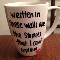 Story Of My Life lyric mug