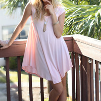 The Last Song Rose Casual T-Shirt Dress