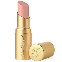 "Too Faced La Creme Color Drenching Lip Cream Lipstick ""Naked Dolly"" 0.05 Oz. Mini"