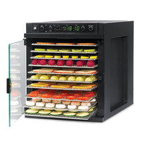 Tribest Sedona Express Food Dehydrator. Stainless Steel Trays.