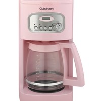 Cuisinart 12-Cup Programmable Coffee Maker with Glass Carafe, Pink