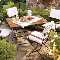 Surry Bistro Dining Table & Set | Pottery Barn