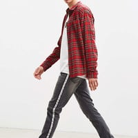 BDG Grey Wash Side Tape Skinny Jean | Urban Outfitters
