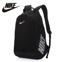 HCXX Nike Fashion Men's Women's Canvas Leisure Sports Travel Backpack Black