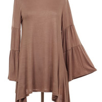High Low (Plus Size) in Mocha