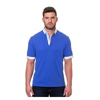 Men's Maceoo Polo S Picque French Blue
