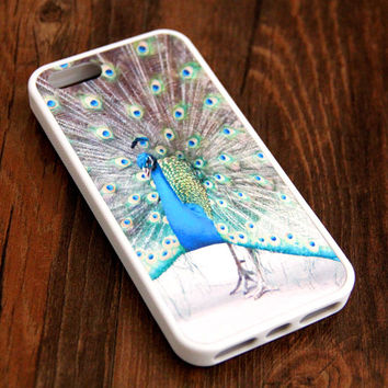 Free Shipping Peacock iPhone 6 Plus iPhone 6 iPhone 5S iPhone 5C iPhone 5 iPhone 4S/4 Rubber Case