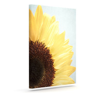 "Susannah Tucker ""Sunshine"" Sunflower Outdoor Canvas Wall Art"