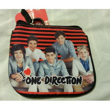 One Direction Coin Purse Id Holder I Love One Direction 1D New
