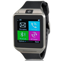 Toofun W99 Watch Phone Bluetooth 3.0 Smart Bracelet with G+G Capacitive Touch Screen 240x240 Supports  GSM Calling, Pedometer, Sleep Monitor, Anti-lost, Video Playing, Photograph, Alarm Clock & Voice Recorder (Black)