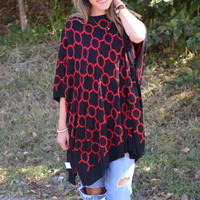 Everly Reversible Poncho