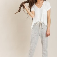 Cori Heather Grey Sweatpants
