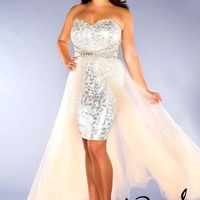 Fabulouss Plus Size 76665F at Prom Dress Shop
