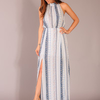 Pleasantly Surprised Maxi - Blue