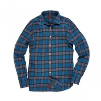 The Lux 3-Ply Flannel - Blue Gray - Twills & Flannels - Shirts - Shop