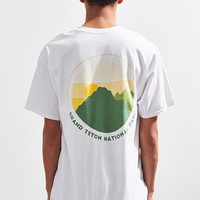 Parks Project Teton National Park Sunset Pocket Tee | Urban Outfitters