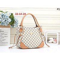 LV 2019 new classic old chess board female shopping bag shoulder bag #1