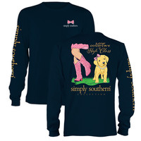 "Simply Southern ""Preppy Country"" Long Sleeve T-Shirt"