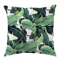 Banana Leaf Pattern Pillow Cover