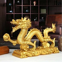 Feng Shui Copper Dragon