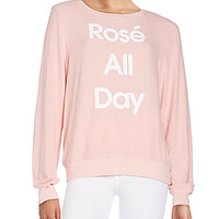 Wildfox - Rose All Day Pullover