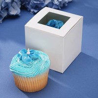 Cupcake Boxes With Window (1 dz)