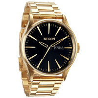 Nixon The Sentry Ss Watch All Gold/Black One Size For Men 22923171301