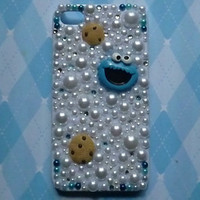 cookie monster Iphone 4 case
