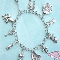 everything french charm bracelet