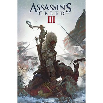 Assassin's Creed III Video Game Poster 22x34