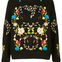 Petite Embroidered Sweat - New In This Week - New In - Topshop USA