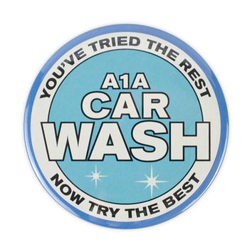 A1A Car Wash Large Badge (Breaking Bad)