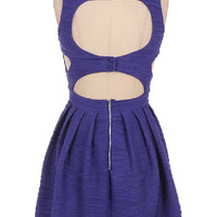 Looking for Love Dress -- Royal Blue