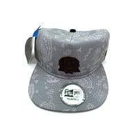 New Era x Secret Society Light Grey Flag Eye Logo Strapback Hat LightGray