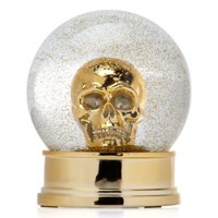 Skull Snow Globe | Objects of Art | Objects of Art | Decor | Z Gallerie