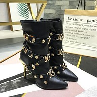 Versace Tribute Ankle Boots Item #a1