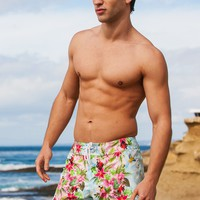 Sauvage Tropical Jungle Surf Shorts