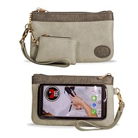 Accessories Catchy Clutch Purse Wrislet Touch Screen - CC1004-1000-1003 LM