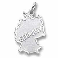 Germany Charm In Sterling Silver