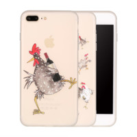 Cartoon Rooster Case For iPhone Models