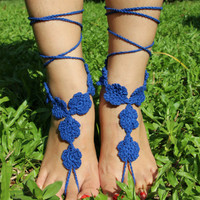 Knitted Beach Yoga Bridal Anklets B007682