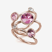 Jewel clustered ring - Pink   Jewelry   Ted Baker
