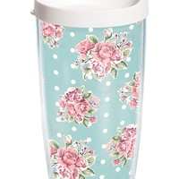 Floral Pattern - Wrap with Lid   16oz Tumbler   Tervis®